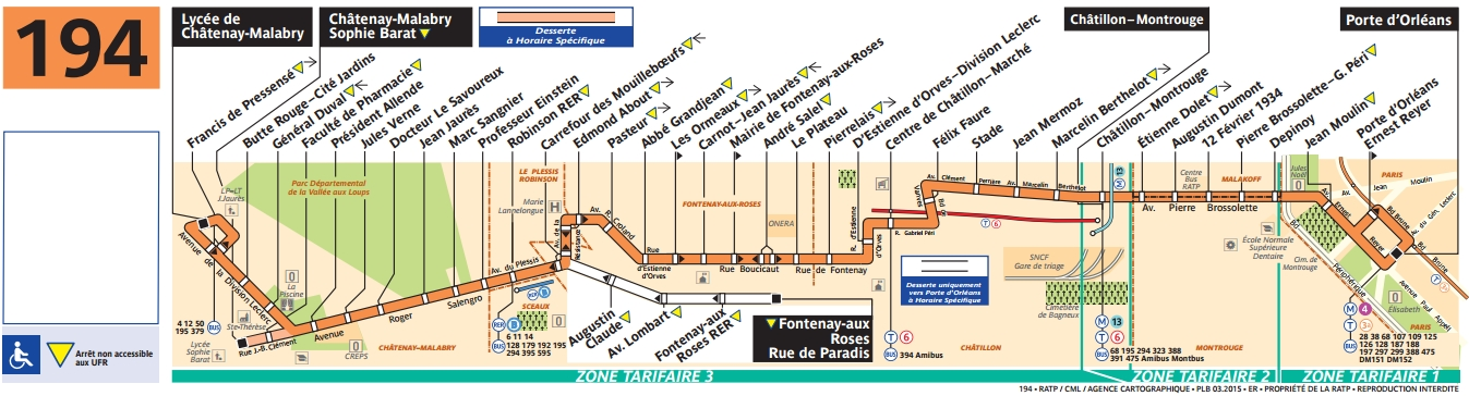 bus 194 horaires et plan ligne 194 paris. Black Bedroom Furniture Sets. Home Design Ideas